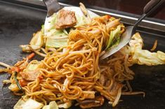 Japanese Fusion Cuisine: Japan's 5 Best Noodle Dishes and their Origin - LIVE JAPAN (Japanese travel, sightseeing and experience guide) Japanese Noodle Dish, Japanese Sauce, Japanese Menu, Easy Japanese Recipes, Asian Recipes, Gourmet Recipes, Cooking Recipes, Ethnic Recipes, Japanese Travel