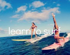 Rent a soft surfboard your very first time out. Don't invest in your own surf board if you've never ever attempted surfing before. At a lot of beaches helpful for surfing, rental areas will be offered near to the beach, offering reasonably inexpensive. Beach Bum, Summer Beach, Summer Vibes, Summer Fun, Summer Sport, Ocean Beach, Beach Bodys, Photography Beach, Good Vibe