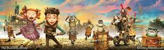 All characters from The Boxtrolls - Eggs, Winnie, Archibald Snatcher, Lord Portley-Rind, Mr. Trout, Mr. Pickles, Mr. Gristle :)