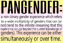 Pangender definition