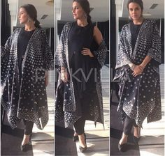 Neha Dhupia # am:pm # fusion look # Indian wear #