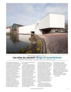 Pierre Hebbelinck Atelier d'Architecture S.A  Mons Memorial Museum, Belgique, 2015.