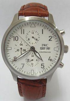 IWC Spitfire Pilot Stainless Steel Men's Watch***