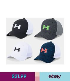 ed91cb0cba5f5 Hats Under Armour Boys Ua Classic Mesh Golf Cap Boys Under Armour Golf Cap