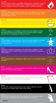 A psicologia das cores | Creative