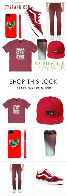 """What a man! By 77 Spark"" by jasmina-ishak ❤ liked on Polyvore featuring Buffalo David Bitton, Vans, men's fashion and menswear"