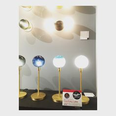The Stem Table lamp from @sklostudio is simple modern elegance.  It had to be style spotted!  #hpmktsscoveredincryptonhome  #hpmktss  #hpmkt