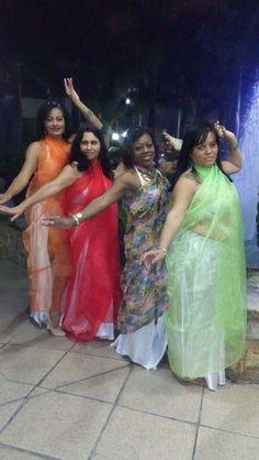 Migucha Leo e suas amigas, na Dança do ventre...