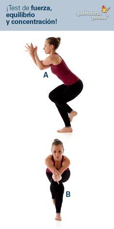 Prueba con este interesante test de fuerza, equilibrio y concentración.