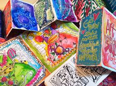 """""""ARTFULLY INSPIRED LIFE 2015"""" I am so very excited to share and launch, """" Artfully Inspired Life"""" my 2015 art journaling and lettering O..."""