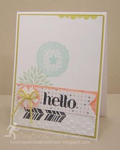 Sale-A-Brate Hello! by hlw966 - Cards and Paper Crafts at Splitcoaststampers