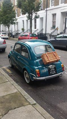 Fiat 500 London