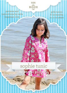 Sophie Tunic PDF Pattern for Girls « Dress Patterns | Crafting | DIY Sewing Project