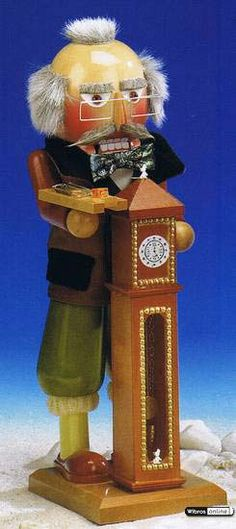 Hickory Dickory Dock  - Limited Edition Nutcracker by Steinbach $225.00 incl. shipping!