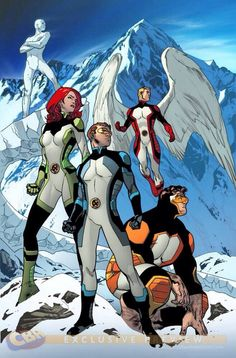 marvel comics O5 x-men - Google Search