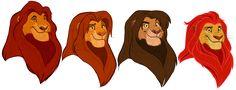 TLK Royal lions by NamyGaga.deviantart.com on @DeviantArt