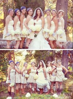 hideout kirkwood bridal party style wedding photographer