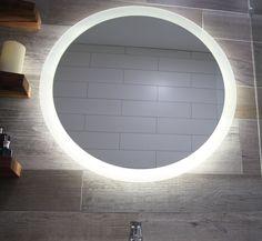 Reverb Bathroom Lighted Mirror