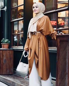 Casual Hijab Outfit, Hijab Chic, Hijab Dress, Modest Dresses, Modest Outfits, Modesty Fashion, Fashion Outfits, Women's Fashion, Color Combinations For Clothes