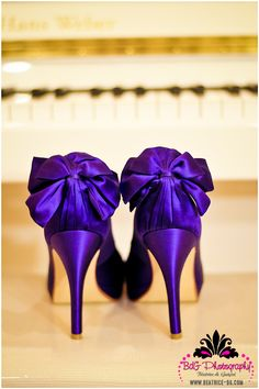 I'm not crazy about these, but I like the idea of having purple heels under my dress.