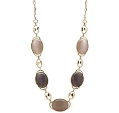 Roberto by RFM Long Stone Necklace