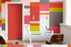 10 Ideias para salas com design colorido