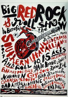 Dennis Clouse / poster / music