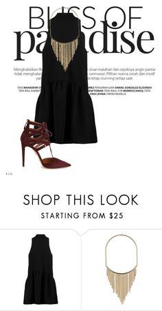 """""""Just like that"""" by agnesegundega on Polyvore featuring Elizabeth and James, Dorothy Perkins and Aquazzura"""