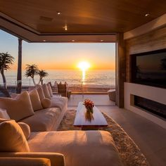This view though! Marine Lair is designed by Matrix Design Studio Stosh Thomas Architects and is located in // Photo courtesy of Rachael Kaiser - Architecture and Home Decor - Bedroom - Bathroom - Kitchen And Living Room Interior Design Decorating Ideas - Dream Home Design, Modern House Design, My Dream Home, Home Interior Design, Room Interior, Exterior Design, Interior Livingroom, Kitchen Interior, Dream Beach Houses