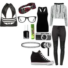 Unbenannt #23 by kirimaus on Polyvore featuring Mode, BKE, Ragdoll, Converse, adidas, Muse, Casetify, Essie and Beats by Dr. Dre