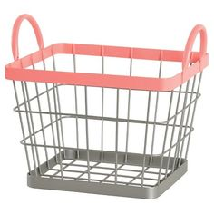Wire Milk Crate Small Pink - Pillowfort™ : Target