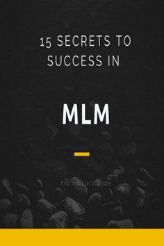 MLM Series #3 - Identify Your Chances of Success in MLM - http://www.ozzytraders.net/blog-posts/mlm-series-3-how-to-identify-your-chances-of-success