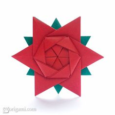 How to make a beautiful 12-Pointed Origami Star