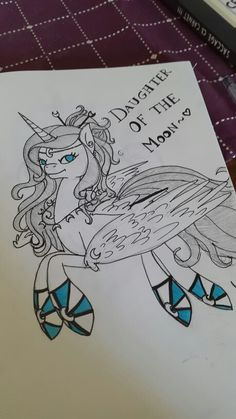 Daughter Of The Moon ~ MLP