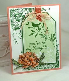 CC479   Green Tag by BeckyTE - Cards and Paper Crafts at Splitcoaststampers