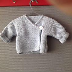 Lief baby vestje van katoen.