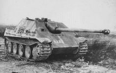 """41 Stunning Images of Knocked out, Abandoned and Captured Jagdpanther """"The…"""