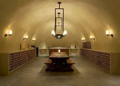 33 Examples Of Wine Storage Done Right... Wine Cellar by Taylor Lombardo Architects