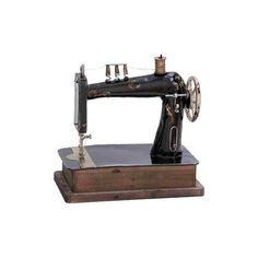 Liverpool Decorative Sewing Machine Design Icon Coco Chanel ❤ liked on Polyvore featuring home, home improvement, fillers, sewing, antique and objects