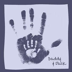 Apa-fia kézlenyomat :)