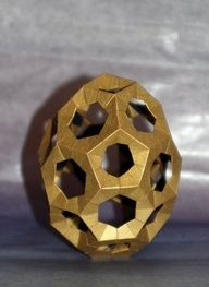 Geometric brass #sculpture.