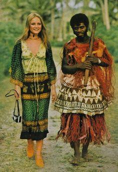 May 1971 - UK Vogue Ingrid Boulting Photo by David Bailey