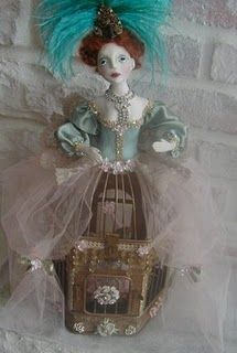new bird cage doll class available now.