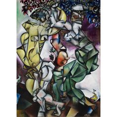 Temptation 1912  Marc Chagall   French (born Belarus), 1887–1985 SLAM