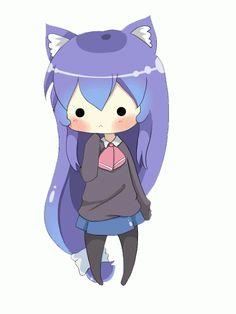 Acchi Kocchi- (Io e Tsumiki) Anime Neko, Anime No Sekai, Mega Anime, Cute Anime Chibi, Cute Anime Pics, Anime Art, Anim Gif, Gif Animé, Loli Kawaii
