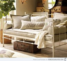 Upholstered Daybed Mattress Bed