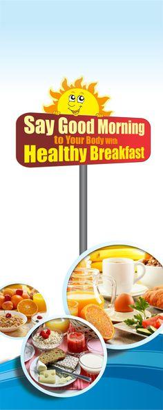 Start a new habit with healthy breakfast. #MOF #Food #Fruits #HealthyFood #MysteryOfFood #breakfast