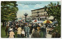 California Cool: vintage postcard Long Beach