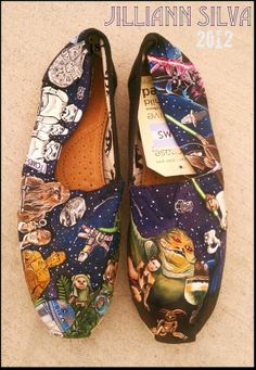 Neat TOMS shoes!