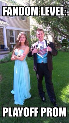 Playoff Prom. Me going to Prom. Pens tshirt over the dress. Buckle Up, Baby